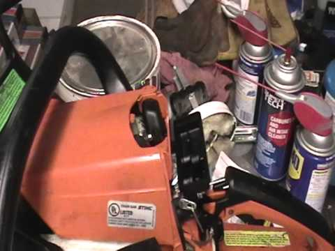 How to change primer bulb on Stihl Chainsaw or small 2 stroke engine