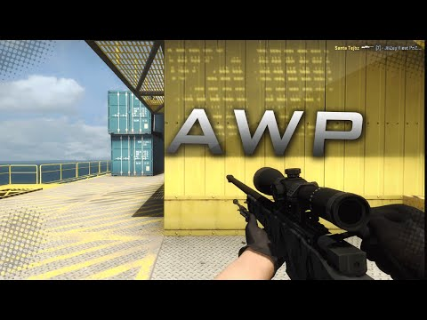 AWP Graphite Ace - Black Gold