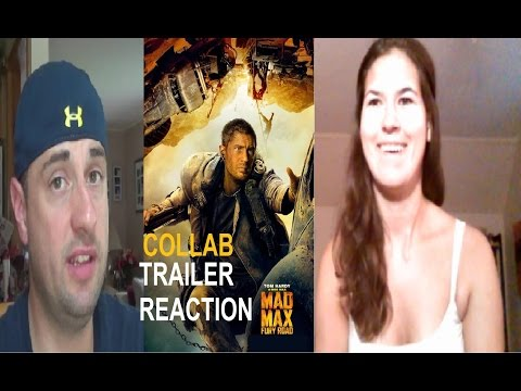 Mad Max: Fury Road - Trailer Reaction Collab w/ MikeyLikesMovies