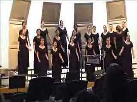 KHS Girls Choir - Boats Sail on the Rivers Video
