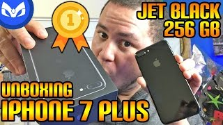 JET BLACK iPhone 7 Plus 256GB PRIMER Unboxing Español