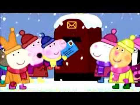 粉紅豬小妹中英文版第1集 佩佩的聖誕節 Peppa Pig's Christmas Mandarin&English