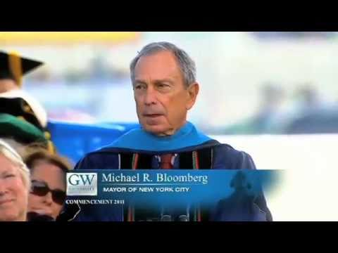 GW Commencement 2011: Michael Bloomberg