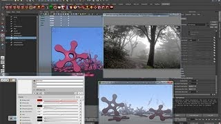 37 Volumetric fog in renderman studio