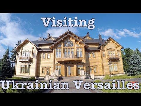 Tour of a Residence of Ukrainian President Victor Yanukovich - Mezhyhirya