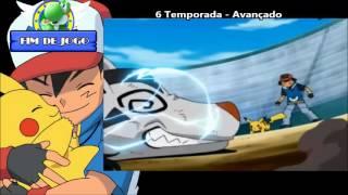Pokémon - Todas as aberturas de 1997 a 2015 (Dublado)