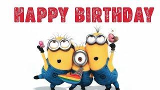 Minions Happy Birthday Song - Funny Minions Birthday Song