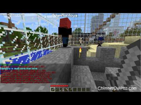 SPECIAL! More Capture Flag with Seananners, CaptainSparklez, and iHasCupquake (HD)