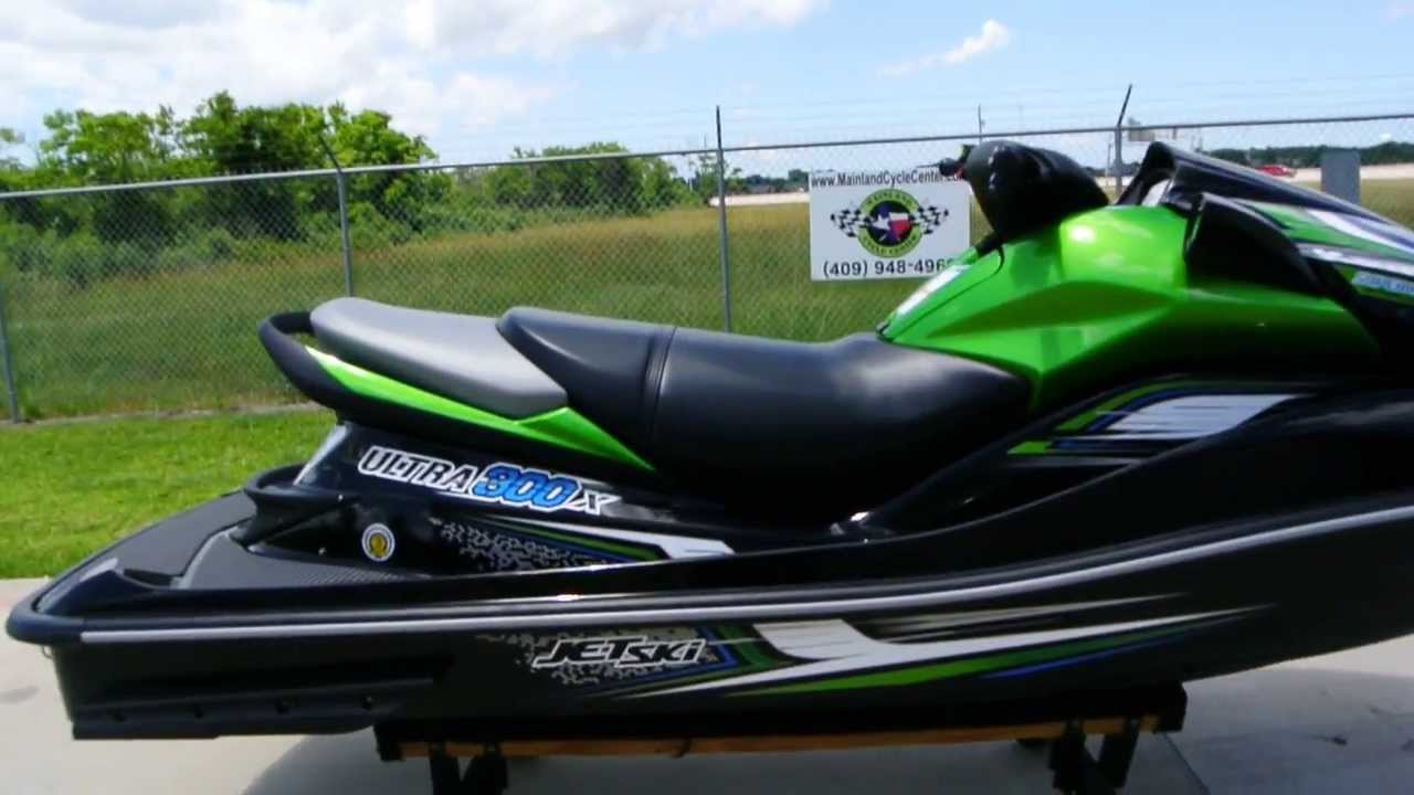Jet Ski Yamaha V Green