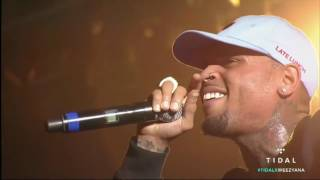 Chris Brown performance Feat. Lil Wayne - Festival