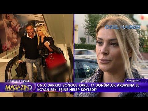 Magazin D - Songül Karlı'nın eşiyle ilgili çarpıcı açıklamaları!