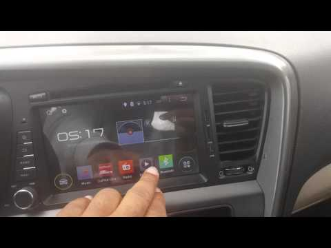 Kia Optima Chinese Android 4.4 Kit Kat Double Din Radio