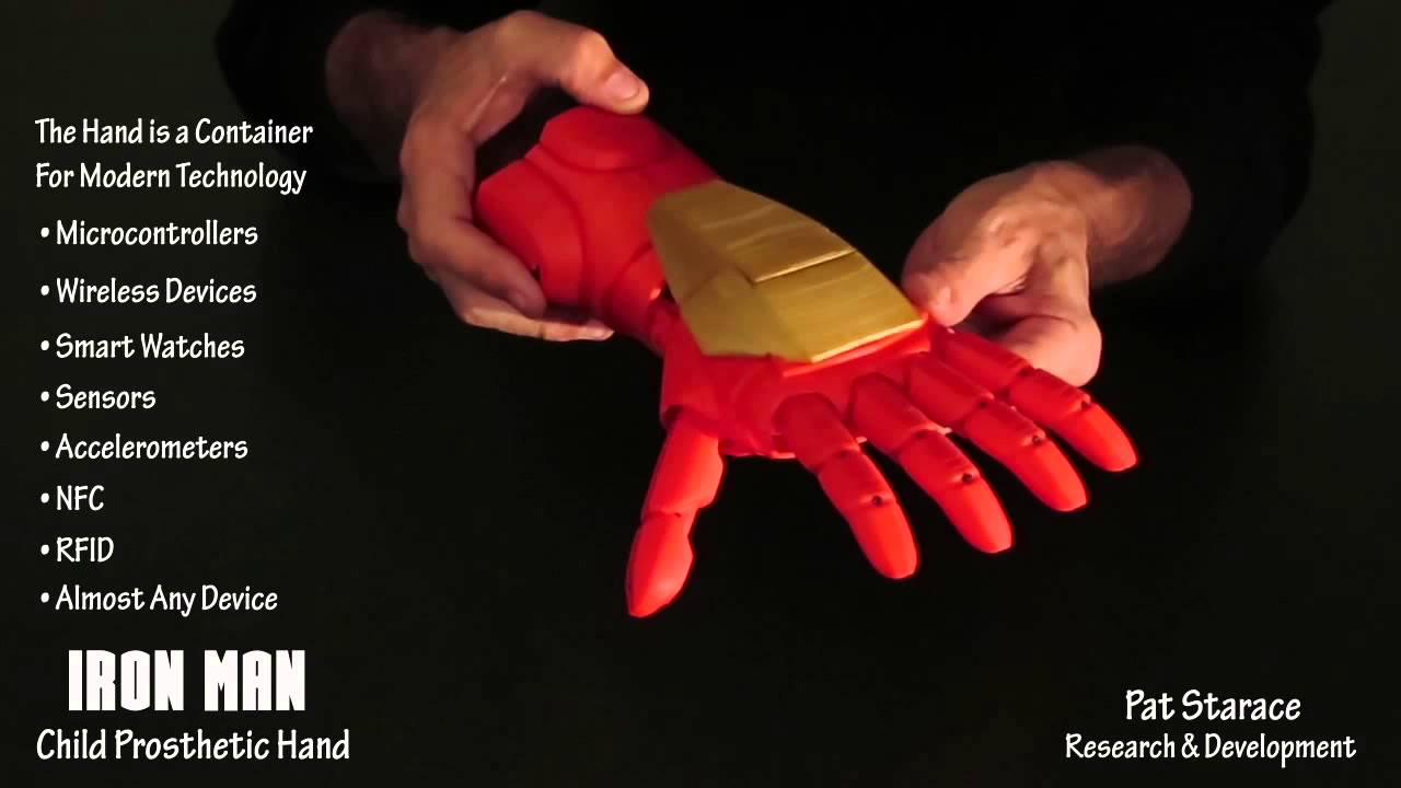 3d Printer Iron Man Hand 3d Printed Iron Man Super Hero