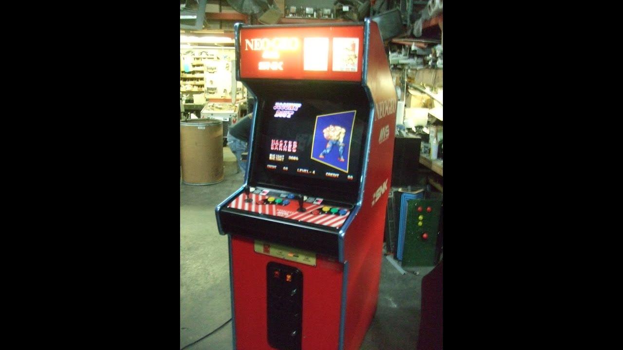 365 dedicated 2 slot snk neo geo mvs system arcade video