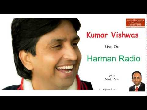 Talk with Kumar Vishwas on Harman Radio Australia by Mintu Brar