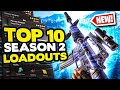 The TOP 10 BEST Loadouts in Warzone Season 2! | Call of Duty Best Class Setups