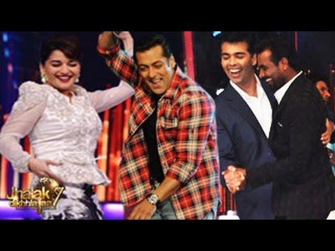 Salman Khan on Jhalak Dikhhla Jaa 7 19th July 2014 FULL EPISODE...