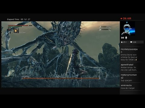 Bloodborne Boss Fight #8 - Amygdala #bloodborne video