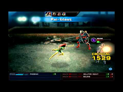 Marvel: Avengers Alliance - Season 2 Ch 3.4 Heroic Battle: Phoenix Vs. Selene