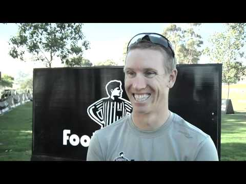 Jarrod Shoemaker Foot Locker alum before FLCC Championships 2011