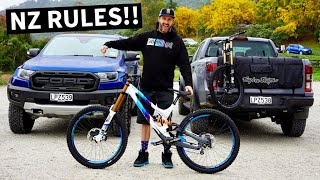 Ken Block Drives the NEW Ford Ranger Raptor, New Zealand MTB Adventures and Bonus Mad Mike Visit!