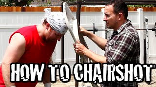 How To Do A Chairshot - Secrets of Pro Wrestling (feat Jason Horton)