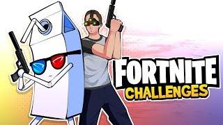 Splinter Cell Challenge! - Fortnite Battle Royale Edition