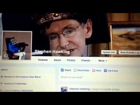 Stephen hawking black hole relativity joe Owens Facebook face book