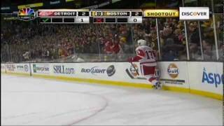 Pavel Datsyuk magic against Boston 11/25/11