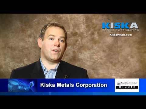 Kiska Metals Corporation - President & CEO Jason Weber - Market Edge Media Minute