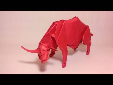 how to make an origami buffalo
