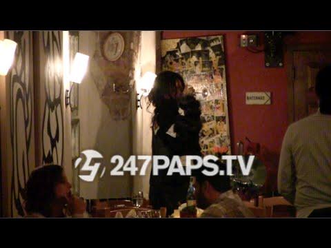 (Brand New) (Exclusive) Rihanna Enjoying A Glass of wine at Da Silvano in NYC 10-18-14