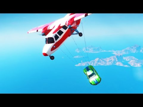 THE MOST DANGEROUS PLANE STUNT EVER DONE! (Just Cause 3 Challenges)