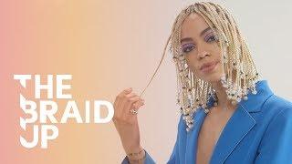 Braided, Beaded Bob | The Braid Up | Cosmopolitan