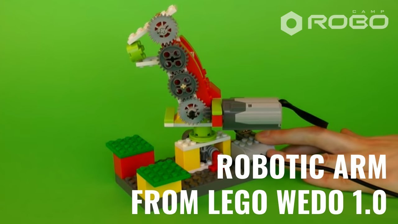 robotic arm   lego wedo   youtube