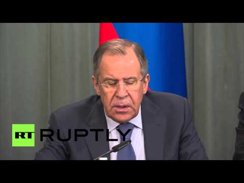 Russia: 'Western sanctions designed to provoke hysteria' - Lavrov