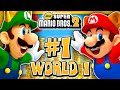 New Super Mario Bros 2 3DS - World 1 (2 Player) 100% & Giveaway