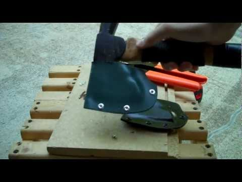 Making a PVC Axe Sheath - How To