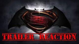 [REACTION] Batman V Superman: Dawn Of Justice NEW LEAKED TRAILER