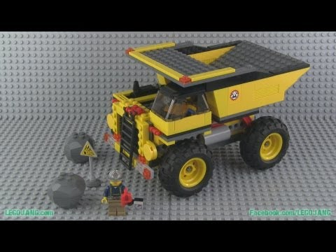 LEGO City 4202 Mining Truck build & review!