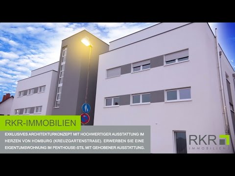 RKR-Immobilien - Penthouse-Wohnung in Homburg