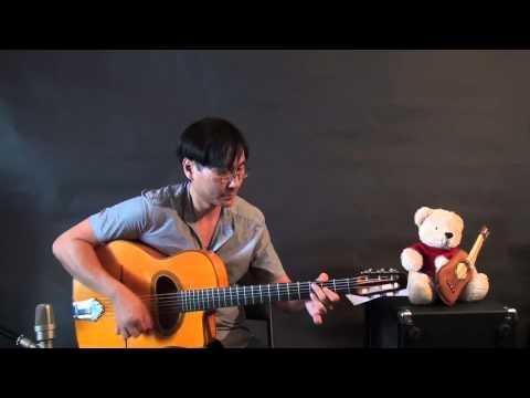 Denis Chang - Gypsy Jazz Rhythm Lesson - La Pompe - Gypsy Style