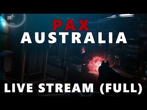FPS Reveal - PAX Australia 2014 Live Stream FULL (Star Citizen)