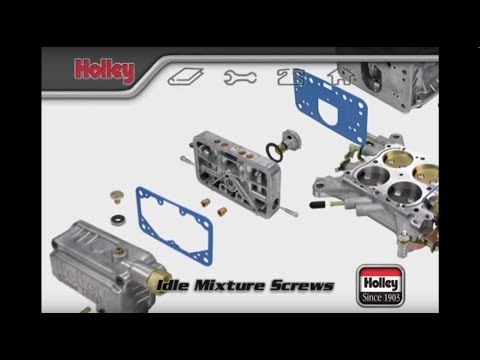 How To Adjust The Idle Mixture Screws On Holley Carburetors