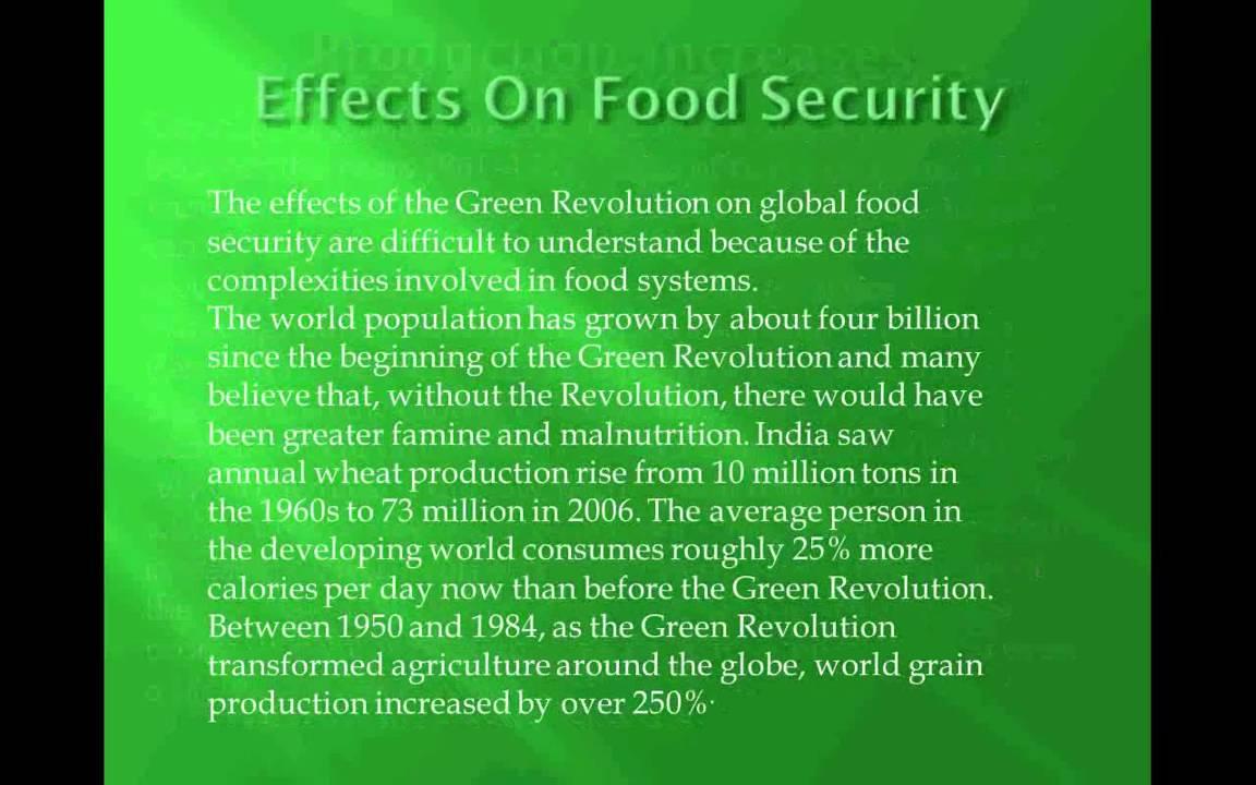 the green revolution essay