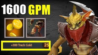 The Real Bounty Hunter [ GPM Abuse ] | Dota 2 Ability Draft