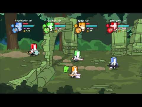 Castle Crashers - Multiplayerový speciál [GoGoManTV, Zdochliakk, FlyGunCZ, Sterakdary]