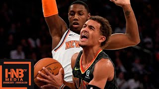Atlanta Hawks vs New York Knicks - Full Game Highlights | October 16, 2019 NBA Preseason