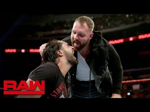 Seth Rollins attacks Dean Ambrose: Raw, Nov. 19, 2018 thumbnail