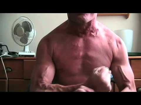 MUSCLE VEINS IN MY ARMS, CHEST, NECK AND SHOULDERS - YouTube
